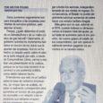 El nuevo capítulo del tarifazo    Nota: Diario HOY 22/04/16 POR HÉCTOR POLINO Estos aumentos seguramente son para tranquilizar a las empresas prestatarias de servicios públicos, pero alarman […]