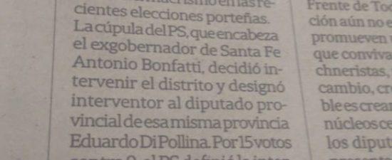 NOTA: LA NACIÓN 11 Nov 2019 por mayoría, y luego de un debate de varias horas, el comité nacional del partido socialista intervino la federación porteña que encabeza Roy Cortina, […]