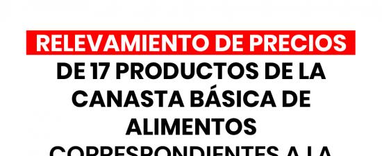 EL DR. HÉCTOR POLINO INFORMO LOS RELEVAMIENTOS DE PRECIOS DE 17 PRODUCTOS DE LA CANASTA BÁSICADE ALIMENTOS CORRESPONDIENTES A LA 1° QUINCENA DE MAYO DEL AÑO 2020   El […]