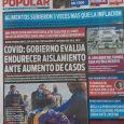 Diario Popular edición impresa 4/9/20: Alimentos subieron tres veces más que la inflación.