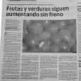 Diario Popular Edicion Impresa 12/9/20: Frutas yverduras siguen aumentando sin freno.