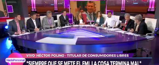 Nada Personal: Programa conducido por VIVIANA CANOSA, TV CANAL 9 (16/10/19)