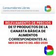 EL DR. HÉCTOR POLINO INFORMO QUE LOS RELEVAMIENTOS DE PRECIOS DE 17 PRODUCTOS DE LA CANASTA BÁSICA DE ALIMENTOS CORRESPONDIENTES AL MES DE MAYO DEL AÑO 2020 TUVIERON UN AUMENTO […]