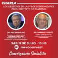 Conversación sobre los derechos de las y los consumidores en contexto de pandemia junto a Gabriel Stiglitz y Héctor Polino.