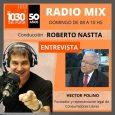 Entrevista a Héctor Polino en AM DEL PLATA conducido por Roberto Nastta sobre el día del cooperativismo y sobre los aumentos de precios.  Radio Mix · Entrevista Hector Polino