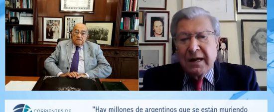 4/5/21 Entrevista al Dr. Héctor Polino en el programa Corrientes de Pensamiento, conducido por el Dr. José Antonio Romero Feris.